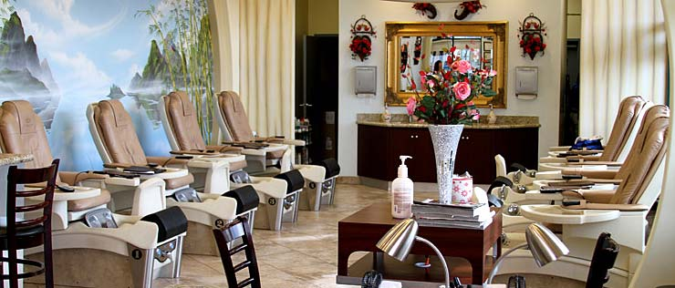 Euphoria Nail Salon - Interior